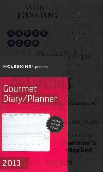 Moleskine Passions Gourmet Diary / Planner 2013 Calendar (Calendar)