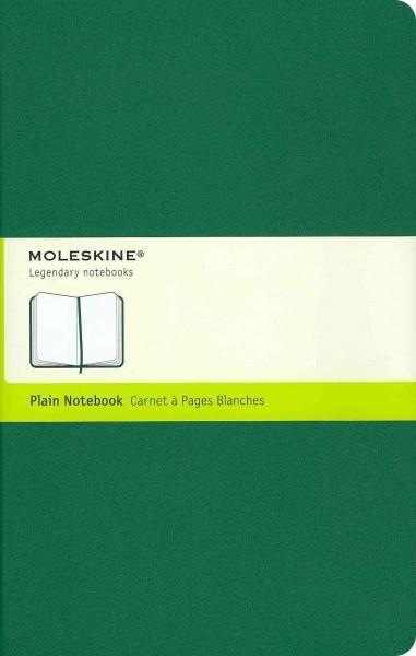 Moleskine Notebook Plain Oxide Green Large (Notebook / blank book)