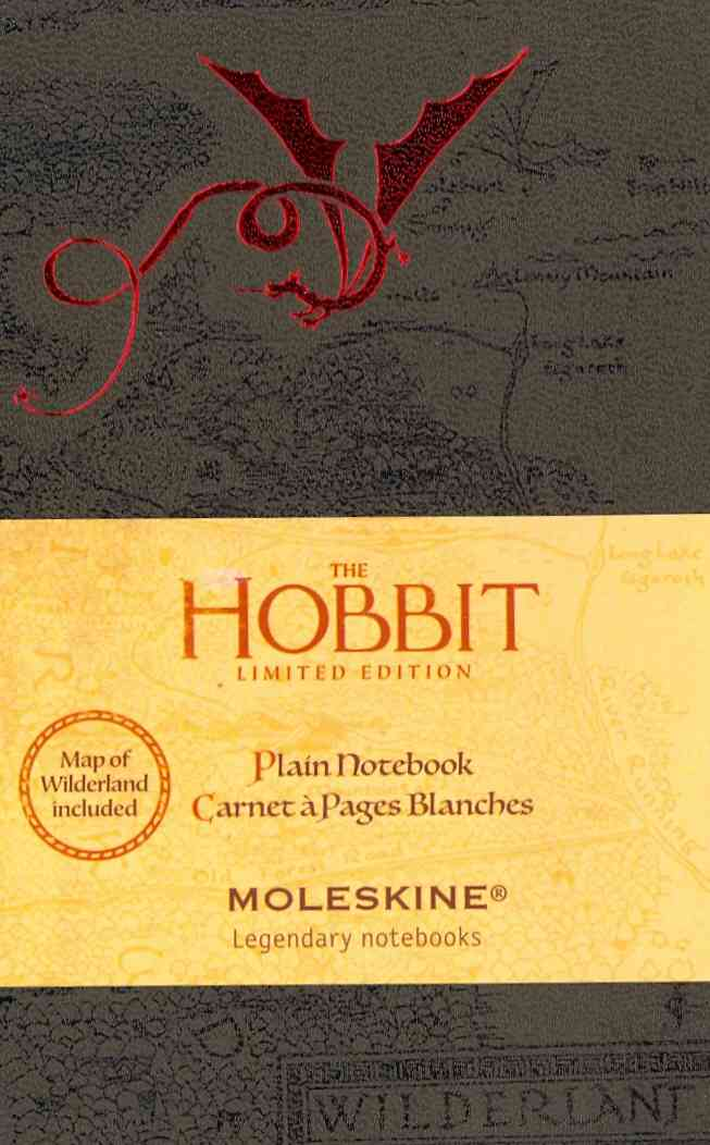 Moleskine the Hobbit Plain Notebook (Notebook / blank book)