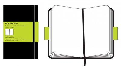 Moleskine Plain Notebook Large (Notebook / blank book)