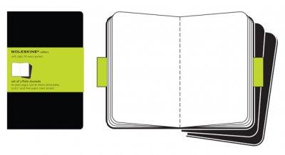 Moleskine Plain Cahier Black Journal Large (Notebook / blank book)