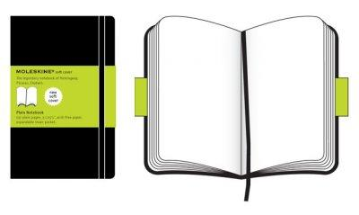 Moleskine Plain Notebook (Notebook / blank book)