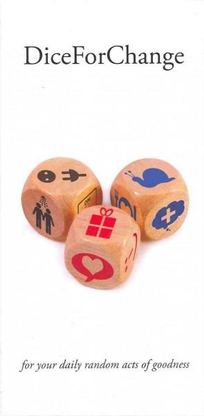 Dice for Change: For Your Daily Random Acts of Goodness (Game)