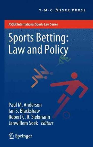 Sports Betting:: Law and Policy (Hardcover)