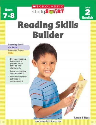 Reading Skills Builder: Level 2, Ages 7-8 (Paperback) - Thumbnail 0
