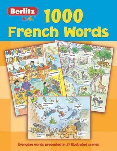 1,000 French Words (Paperback)