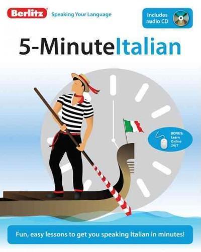 Berlitz 5-Minute Italian
