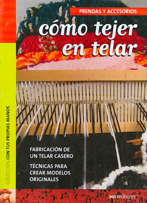 Como tejer en telar/ How to Loom Knit