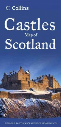 Collins Castles Map of Scotland (Sheet map, folded)