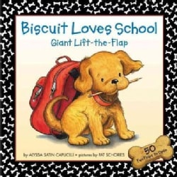 Biscuit Loves School: Giant Lift-the-flap (Board book)