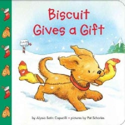 Biscuit Gives a Gift (Board book)