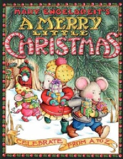 Mary Engelbreit's a Merry Little Christmas: Celebrate from A to Z (Paperback)
