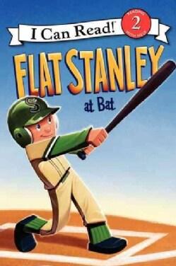 Flat Stanley at Bat (Paperback)