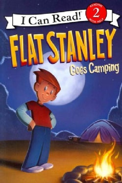 Flat Stanley Goes Camping (Paperback)