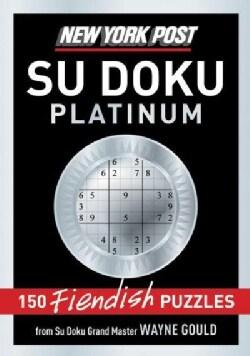 New York Post Sudoku Platinum: 150 Fiendish Puzzles (Paperback)