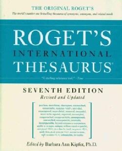 Roget's International Thesaurus (Hardcover)