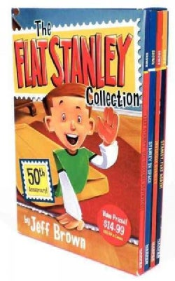 Flat Stanley Collection Box Set: Flat Stanley, Invisible Stanley, Stanley in Space, and Stanley, Flat Again! (Paperback)