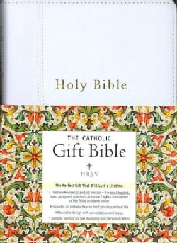 Holy Bible: New Revised Standard Version, White, Catholic Gift Edition (Paperback)