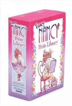 Fancy Nancy Petite Library: Every Day Is Earth Day / Pajama Day / the 100th Day of School / the Show Must Go on (Hardcover)