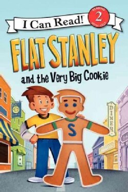Flat Stanley and the Very Big Cookie (Hardcover)