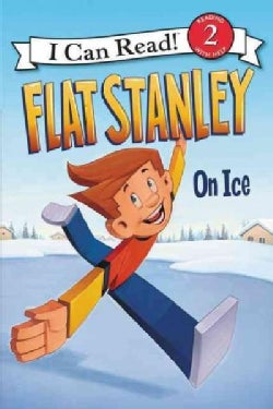 Flat Stanley On Ice (Paperback)