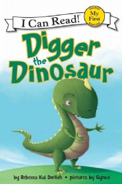 Digger the Dinosaur (Hardcover)