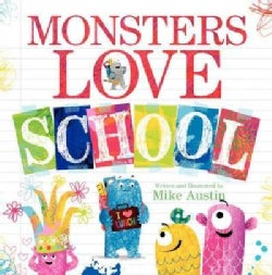 Monsters Love School (Hardcover)