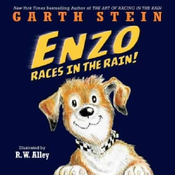 Enzo Races in the Rain! (Hardcover)