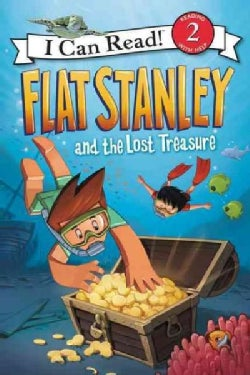 Flat Stanley and the Lost Treasure (Paperback)