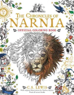 The Chronicles of Narnia Official Coloring Book (Paperback)