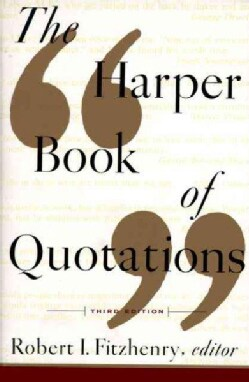 The Harper Book of Quotations (Paperback)
