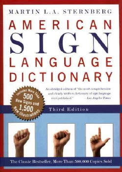 American Sign Language Dictionary (Paperback)
