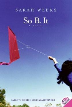 So B. It (Paperback)