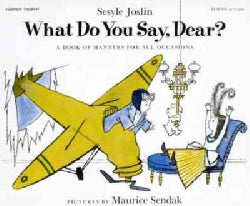 What Do You Say, Dear? (Paperback)