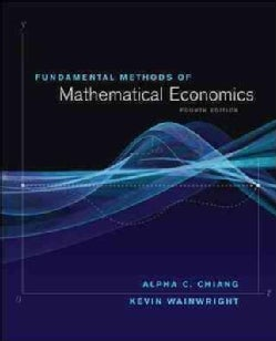 Fundamental Methods of Mathematical Economics (Hardcover)