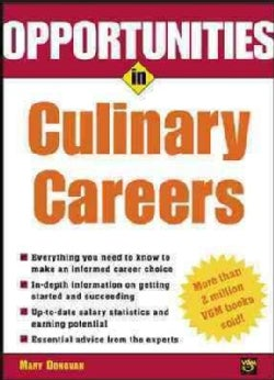 Opportunities in Culinary Careers (Paperback)