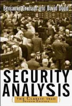 Security Analysis: The Classic 1940 (Hardcover)