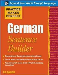 German Sentence Builder (Paperback)