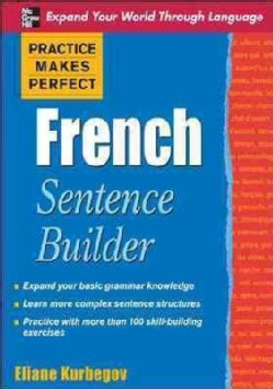 French Sentence Builder (Paperback)