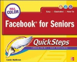 Facebook for Seniors QuickSteps (Paperback)