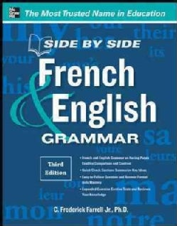 Side-by-Side French & English Grammar (Paperback)