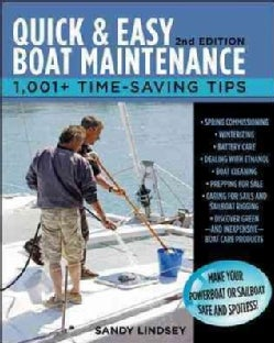 Quick & Easy Boat Maintenance: 1,001+ Time-Saving Tips (Paperback)