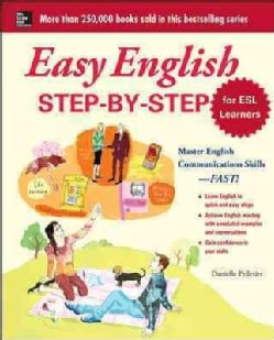 Easy English Step-by-Step: For Esl Learners (Paperback)