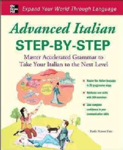 Advanced Italian Step-by-Step (Paperback)