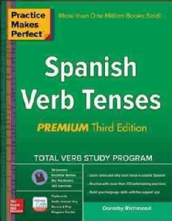 Practice Makes Perfect Spanish Verb Tenses (Paperback)