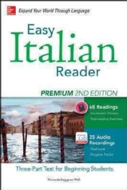 Easy Italian Reader: A Three-Part Text for Beginning Students (Paperback)