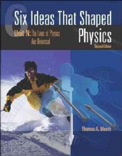 Six Ideas That Shaped Physics: Unit N: The Laws of Physics Are Universal (Paperback)