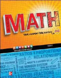 Glencoe Math Course 1 (Paperback)