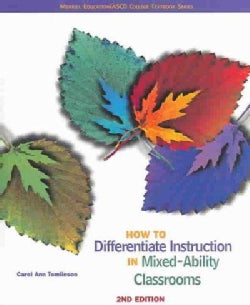 How To Differentiate Instruction In Mixed Ability Classrooms (Paperback)