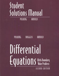 Differential Equations: With Boundary Value Problems (Paperback)